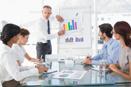 Business man giving a presentationの素材 [FYI00003467]