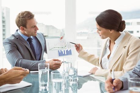 Business people in board room meetingの素材 [FYI00003726]