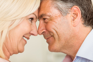 Happy mature couple smiling togetherの写真素材 [FYI00003840]