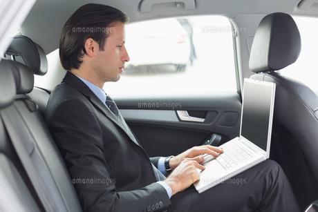 Businessman workingの写真素材 [FYI00005974]