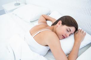 Peaceful woman sleepingの写真素材 [FYI00006355]