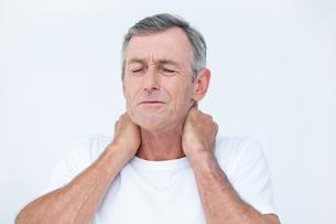 Patient with neck acheの素材 [FYI00006737]