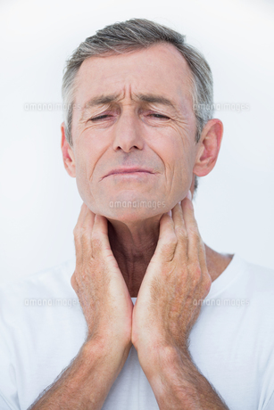 Patient with neck acheの素材 [FYI00006738]