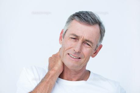 Patient with neck acheの素材 [FYI00006740]