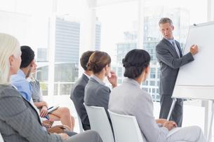 Businessman doing speech during meetingの素材 [FYI00007538]
