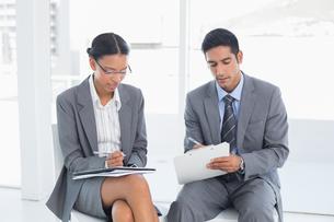 Business people in board room meetingの写真素材 [FYI00007585]