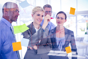 Business team having a meetingの写真素材 [FYI00007671]