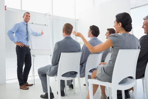 Business team during conferenceの素材 [FYI00007751]