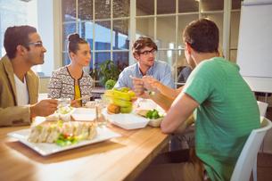 Business people having lunchの写真素材 [FYI00008123]