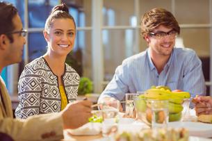 Business people having lunchの写真素材 [FYI00008127]