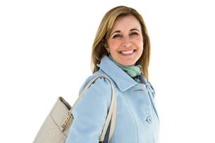 Woman smilingの写真素材 [FYI00010231]