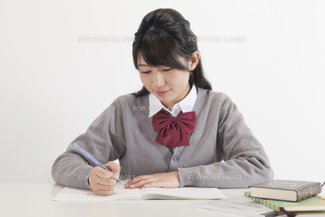 女子高生の写真素材 [FYI00023814]