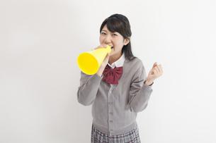 女子高生の写真素材 [FYI00023838]