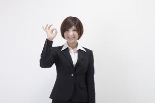 女性会社員の素材 [FYI00023961]