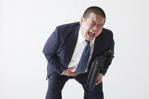 スーツを着た中年男性の写真素材 [FYI00023971]