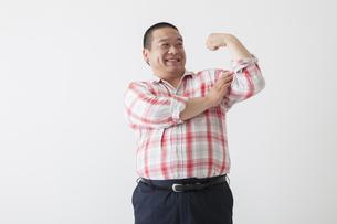 中年男性のポートレートの写真素材 [FYI00023983]
