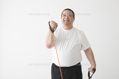 中年男性のダイエットの写真素材 [FYI00024004]