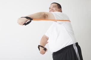 中年男性のダイエットの写真素材 [FYI00024006]