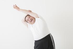 中年男性のダイエットの写真素材 [FYI00024019]