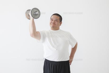 中年男性のダイエットの写真素材 [FYI00024022]
