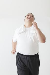中年男性のダイエットの写真素材 [FYI00024023]