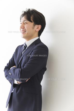 やる気のあるビジネスマンの素材 [FYI00024169]