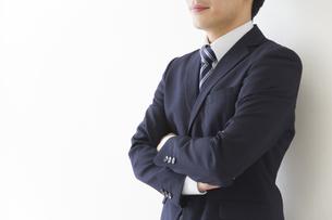 やる気のあるビジネスマンの写真素材 [FYI00024172]