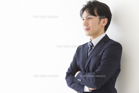 やる気のあるビジネスマンの素材 [FYI00024174]