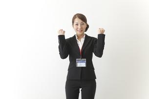 やる気のある女性社員の素材 [FYI00024222]