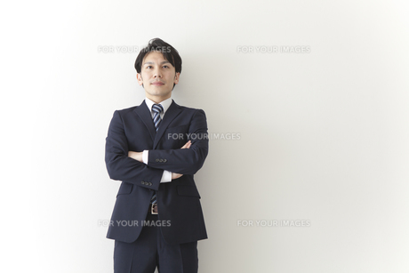 やる気のあるビジネスマンの素材 [FYI00024243]