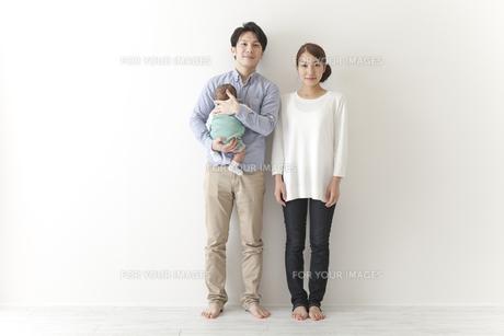 家族写真の素材 [FYI00024285]