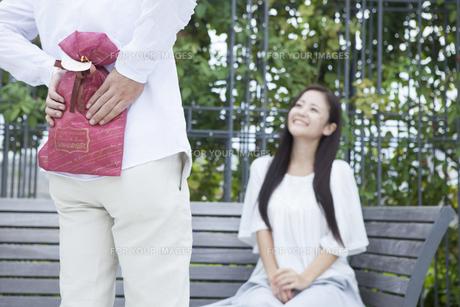 若い男女のカップルの素材 [FYI00024339]
