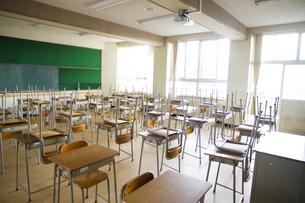 教室の写真素材 [FYI00024480]