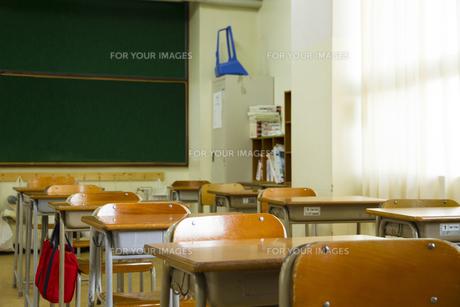 教室の写真素材 [FYI00024484]