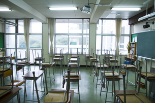 教室の写真素材 [FYI00024486]