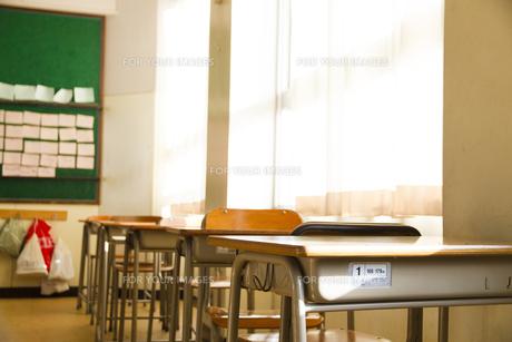 教室の写真素材 [FYI00024494]