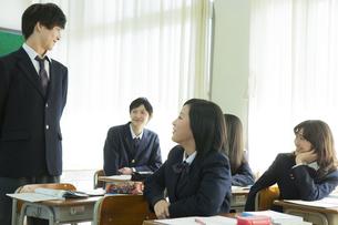 授業中の高校生の素材 [FYI00024495]
