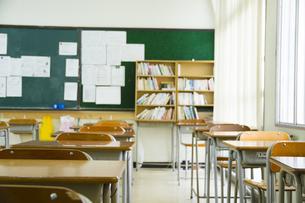 教室の写真素材 [FYI00024508]