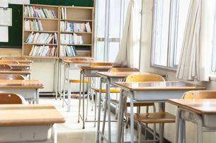 教室の写真素材 [FYI00024509]