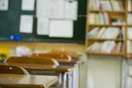 教室の写真素材 [FYI00024511]
