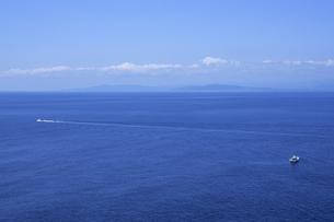 広大な海と青い空、Vast sea and blue sky,の素材 [FYI00024646]