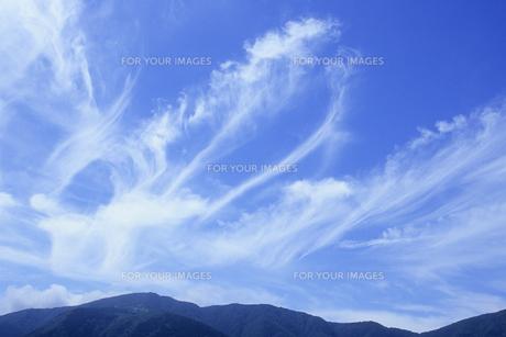 雲のおどり、Of clouds dance,の素材 [FYI00024647]