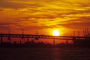 横浜港の暁陽、AkatsukiYo of Yokohama Portの素材 [FYI00024821]