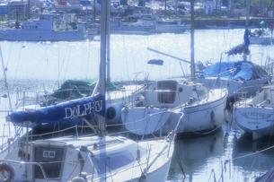 マリーナの午後、Afternoon of Marinaの写真素材 [FYI00024872]