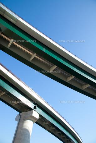 完成した高速道路の素材 [FYI00025199]