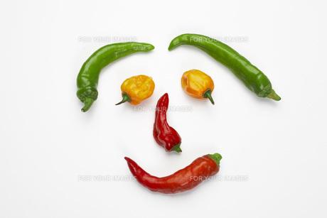 野菜の顔の素材 [FYI00025257]