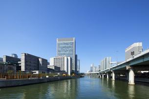大阪中之島の都市風景の素材 [FYI00025308]