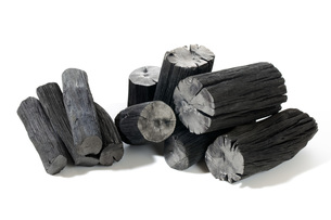備長炭の素材 [FYI00025473]
