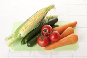 夏野菜の写真素材 [FYI00025697]