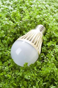 LED電球の環境イメージの素材 [FYI00025714]